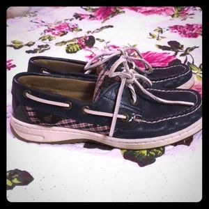 Sperry top-sider boat shoes navy 5.5